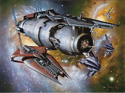 Babylon 5 Last Best Hope Lithograph