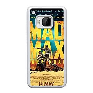 HTC One M9 Cell Phone Case White Mad Max Road Fury ST1YL6710472