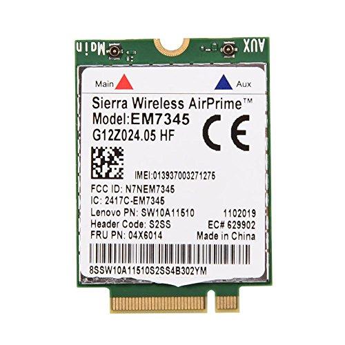 Fosa EM7345 04X6014 4G LTE WWAN Card Module for Thinkpad X250 X1C W550 T450 X240 T440 by fosa