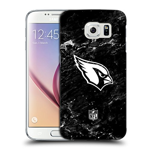 Official NFL Marble 2017/18 Arizona Cardinals Hard Back Case for Samsung Galaxy ()