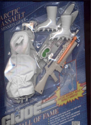 Gear Joe Mission Gi (G.I Joe Hall of Fame Arctic Assault Mission Gear by G. I. Joe)