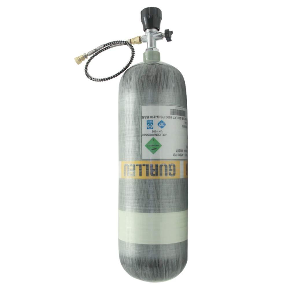 Amazon.com: IORMAN 6,8 L / 75 cf 4500psi tanque de aire ...