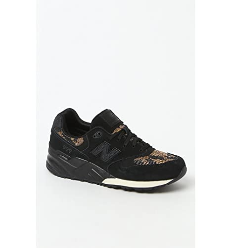 reputable site 63e19 92ffb New Balance Women 999 Plastic Weave WL999PW (Black/Gold)