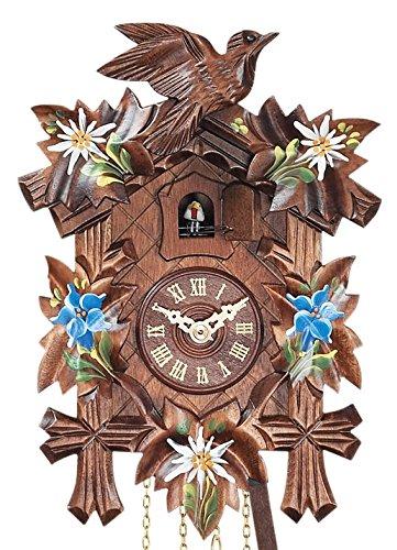 German cuckoo clock with 5 leaves Design mygermanstore ENA1