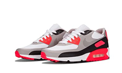 Nike Mens Air Max 90 Infrared Patch SP White Infrared Trainer Size 9 UK