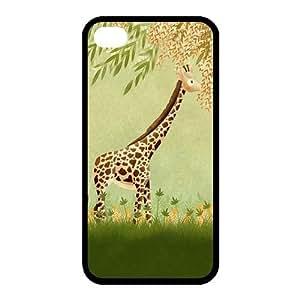 Custom Giraffe Back Case for iphone4,4S JN4S-187 by icecream design