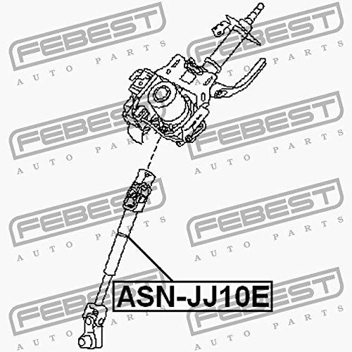 Febest /ÁRBOL CARD/ÁN DE DIRECCI/ÓN INFERIOR ASN-JJ10E