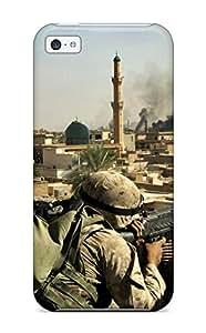 [uZQPlbH1034eoDdb]premium Phone Case For Iphone 5c/ Soldier Tpu Case Cover