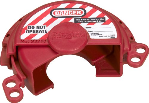 Master Lock Pressurized Gas Valve Lockout (Lock Fuel Tank)