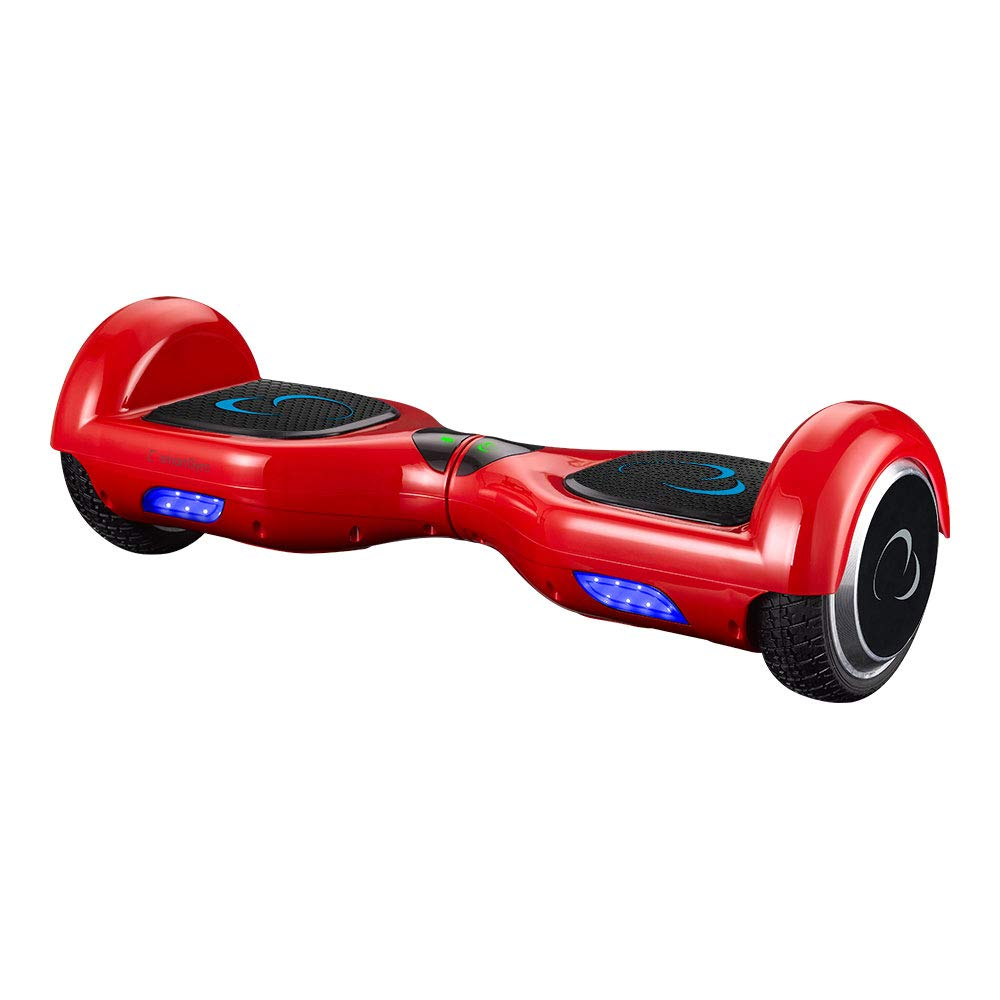 SMARTGYRO Pack Hoverboard X1s Red Ruedas 6,5, Potente Bater/ía de Litio, Estructura de Kart Resistente y c/ómoda, Bolsa de Nylon Go Kart Silla m/ás Patinete el/éctrico Bolsa de Transporte -