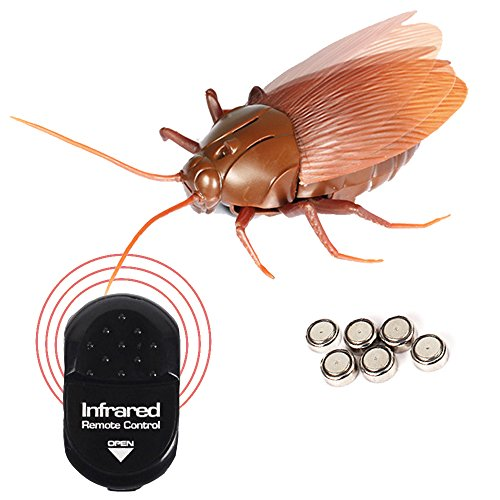 Running Ant Remote Control Cockroach Realistic Prank Cockroach