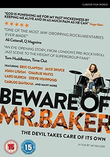 Beware of Mr. Baker [DVD] by Ginger Baker B01I06NTV2