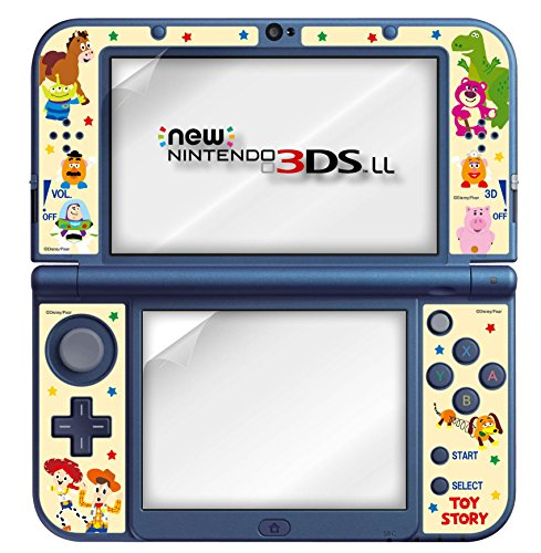 (New Nintendo 3DS LL dedicated LCD protective film Toy Story Pop with Decoration)