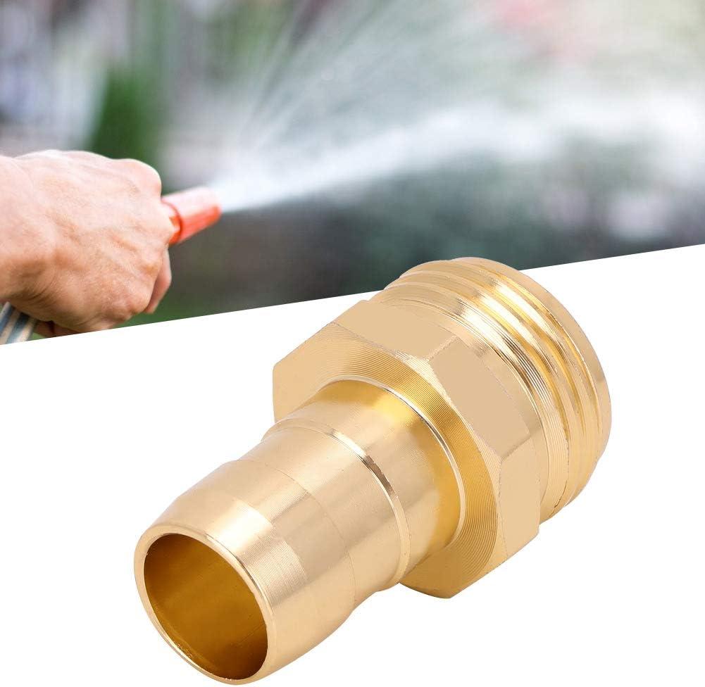 AUNMAS Raccordo per Tubo da Giardino 2 Pezzi FNPT MNPT DN20 Raccordo per Tubo filettato Femmina Maschio Raccordo per Tubo dellAcqua per Attrezzature per lirrigazione del Giardino Domestico