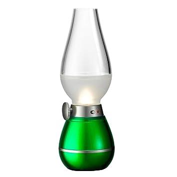 tping clásica lámpara LED Lámpara de mesa retro vintage Farol Blow LED con cable USB Nostalgie