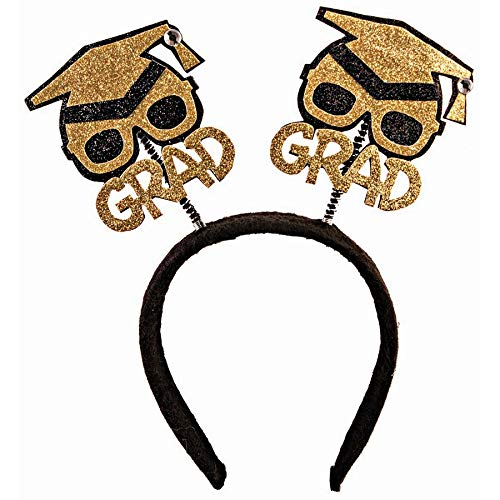 Forum Novelties Glitter Grad Hat Bopper Headband -