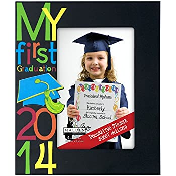 Amazon.com - Malden International Designs My First Graduation 2014 ...
