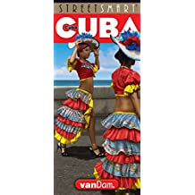 StreetSmart Cuba Map by VanDam - Map of Cuba - Laminated folding pocket size country travel guide with detailed city street maps (English and Spanish Edition), 2018 Edition
