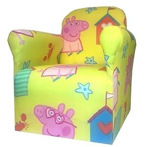 Peppa Pig Childrens Branded Cartoon Character Armchair