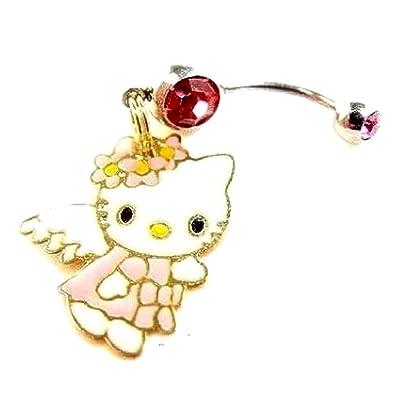 vendita online acquista per ufficiale quantità limitata Bijoux Kids - Piercing gioielli ombelico Hello Kitty Angelo ...