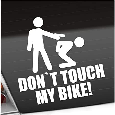 Kiwistar Sticker Dont Touch My Bike Car Sticker Bomb Decals Tuning Stick Auto
