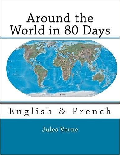 Around the World in 80 Days: English & French: Amazon.co.uk ...