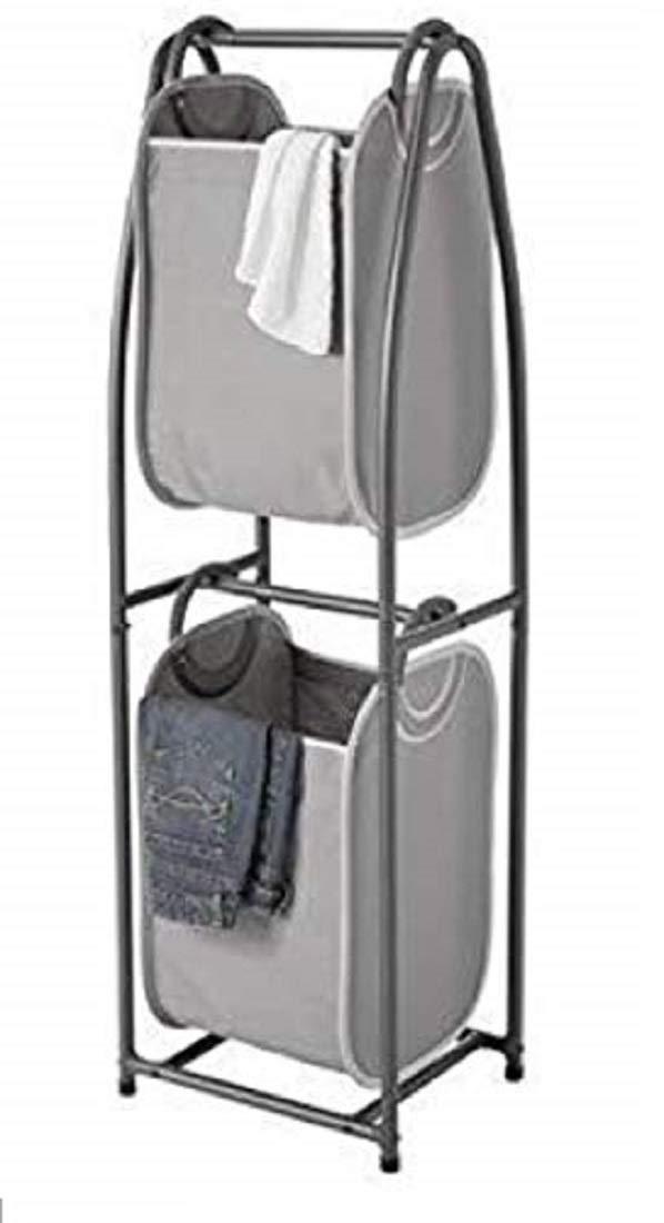 Neat Freak 縦型洗濯物かご キャンバストートバッグ 2点 ポータブル B07HMMRBGQ