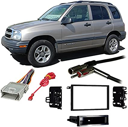 WIRE HARNESS INSTALL KIT for CAR STEREO Fits 1998-2004 CHEVROLET TRACKER