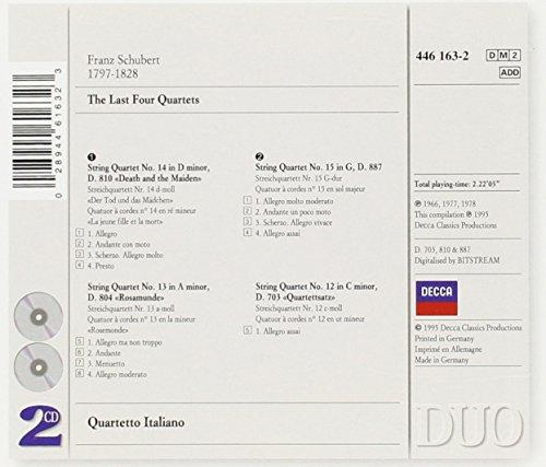 Cuartetos de cuerda de Schubert 51wWFHCEC%2BL