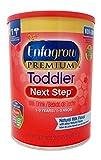 Enfagrow PREMIUM Toddler Next Step, Natural Milk Flavor. 36.6 oz. Plus Free Bonus 1 Pack of Disposable Baby Bibs and 1 Baby Washcloth.