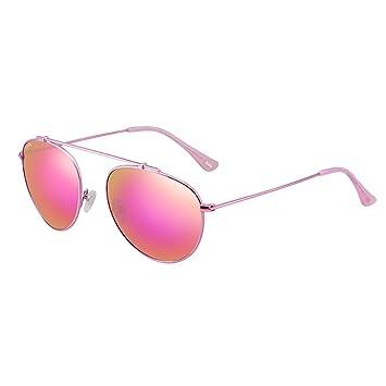 Sonnenbrille Frauen Polarisierte Sonnenbrillen Anti-UV Ultra-light Metallrahmen ( farbe : Silber ) tq7NMY