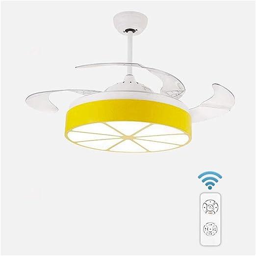 Ventilador de Techo multifunción Luz LED Geometría Habitación para ...
