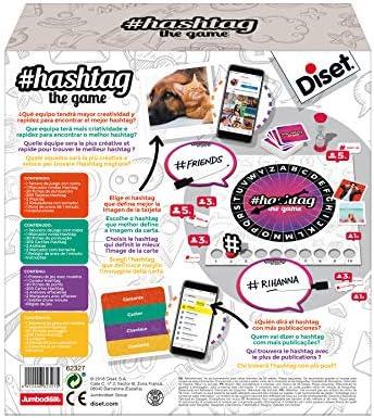 Diset - Hashtag, juego de mesa: Amazon.es: Juguetes y juegos