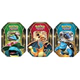 Pokemon TCG EX Power  Trio Tin, Assorted (Discontinued by manufacturer)