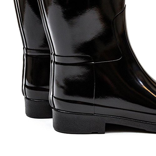 Jagers Laarzen Origineel Geraffineerde Gloss Laarzen, Zwart, 10 B (m) Ons