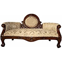 Design Toscano Victorian Cameo-Backed Settee