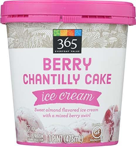 365 Everyday Value, Berry Chantilly Ice Cream, (Frozen), 16 oz