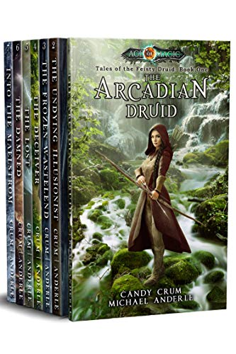 Fantasy readers alert! 7-in-1 boxed set!Arryn won't rest until the wicked are dead and the innocents are finally able to rise from the darkness…Tales of the Feisty Druid Omnibus (Books 1-7) by Michael Anderle and Candy Crum