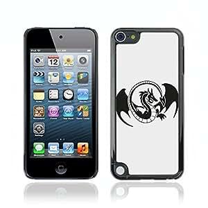 Carcasa Funda Case // V0000557 Dragon Logo // Apple iPod Touch 5 5G 5th