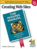 Creating Web Sites, MacDonald, Matthew, 0596008422