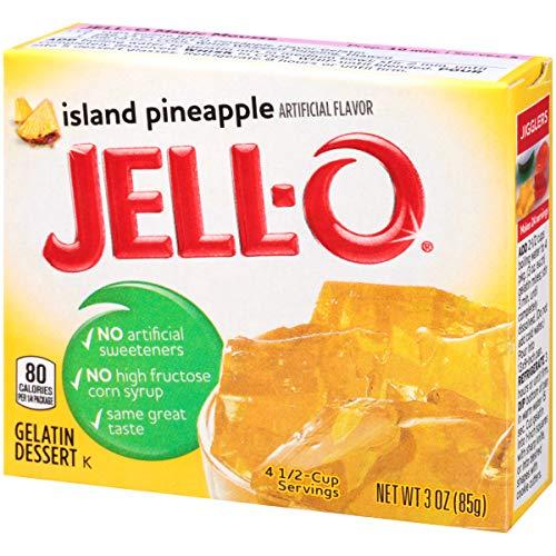 Jell-O Island Pineapple Gelatin Dessert Mix, 3 oz Box by Jell-O (Image #5)