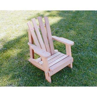 (Creekvine Designs Cedar Child Size Wide Slat Adirondack Chair )