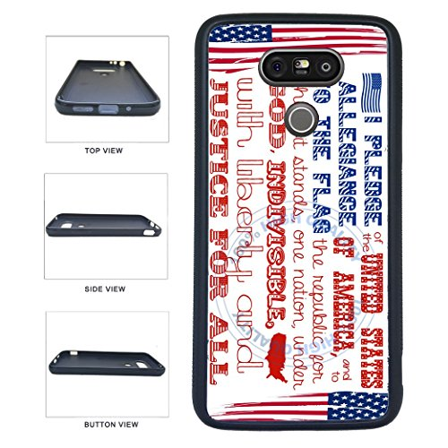 - BleuReign(TM) The Pledge Of Allegiance TPU RUBBER SILICONE Phone Case Back Cover For LG G5