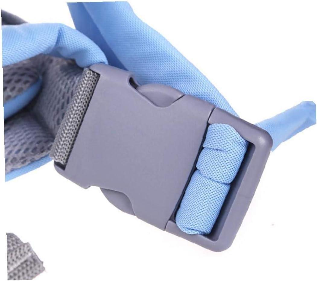 Transpirable Suave Beb/é Reci/én Nacido Portador Anverso Portaobjetos Envolvente Beb/és Ergon/ómico Honda Mochila Azul