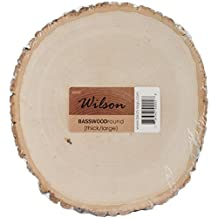 """Basswood Thick Round Large-9"""" To 11"""""""