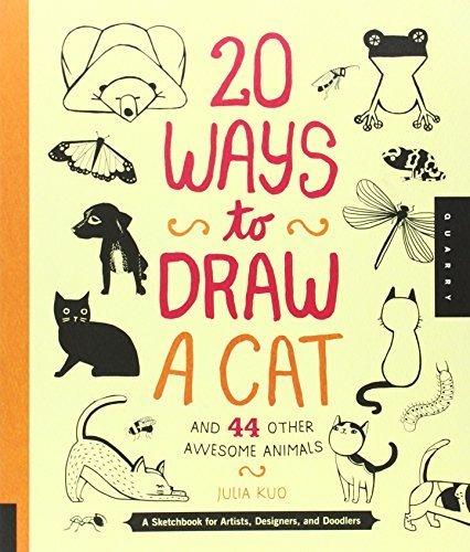 20 ways to draw a cat - 9