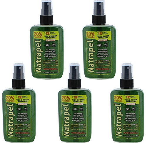 Natrapel 8 Hour Tick and Insect Repellent Pump 3.4 oz (Pack of ()