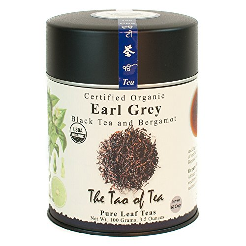 The Tao of Tea, Earl Grey Black Tea, Loose Leaf, 3.5 Ounce Tin - Herb Bergamot