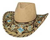 Montecarlo Bullhide Hats ALWAYS ON MY MIND Premium Wool Cowboy Western Hat (Large)