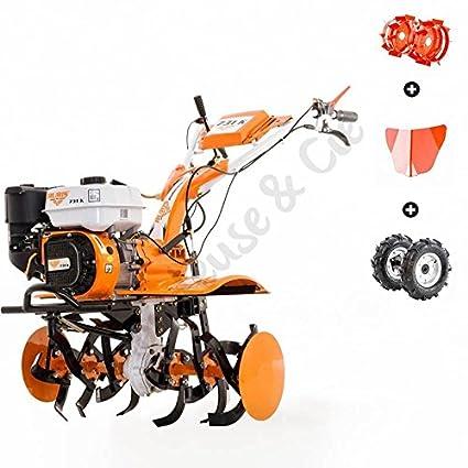Motocultor 7,5 Cv 6 fresas velocidades 2AV – 1AR Ruedas agrarias 400 x 8